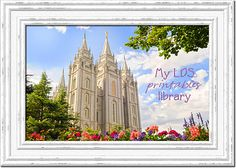 Free LDS printables, mostly primary stuff!