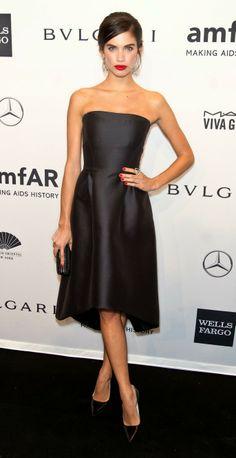 amFAR Gala 2014: (BEST) Sara Sampaio in Alberta Ferreti.