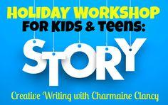 Dec 16 - 2-5pm Paddington Hall (Qld) https://www.eventbrite.com.au/e/creative-writing-workshop-for-kids-tickets-29885705951?aff=ehomecard