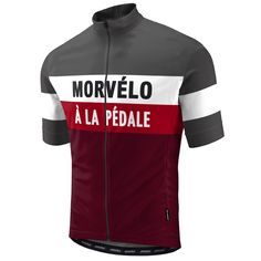 Morvelo A La Pedale Cycling Jersey - The Cool Dude Shop Cycling T Shirts, Cycling Wear, Cycling Jerseys, Road Cycling, Cycling Outfit, Cycling Clothing, Road Bike, Cycle Chic, Soccer