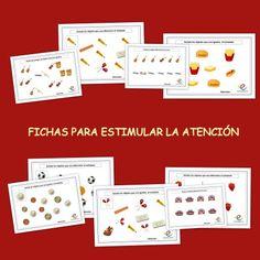 Fichas para estimular la atención en los niños