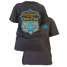 Southern By the Grace of God T-Shirt by Couture Tee