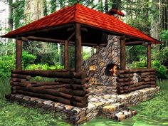 wooden-gazebo-designs-backyard-ideas-8.jpg (500×375)