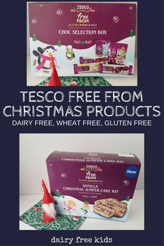 Free From Christmas Range Tesco