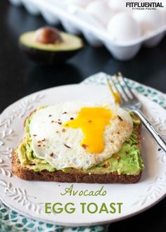 avocado egg toast recipe and variations