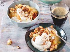 Apfelträumchen mit Cantuccini Rezept   LECKER
