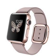 HK$129,800. Apple Watch 38mm 18-Karat Rose Gold Case from Apple HK.