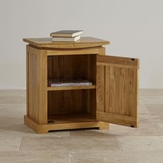 The Tokyo Natural Solid Oak Nightstand is a highly effective and elegant bedroom unit with a Japanese-inspired design.