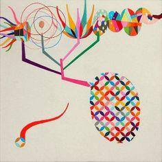 Takashi Iwasaki , amazing embroidery pieces