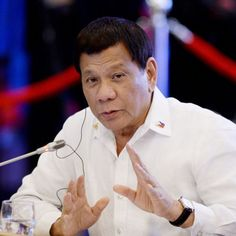 """Philippine President Rodrigo Duterte, while delivering a speech ahead of his visit to Tokyo told the Filipino community he """"used to be gay"""" before he """"cured"""" himself. Rodrigo Duterte, Filipino, Economics, Lgbt, Presidents, Tokyo, The Cure, Politics, Community"""