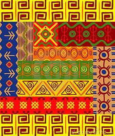 Stock Photography: African patterns and ornaments. Image: 21994122