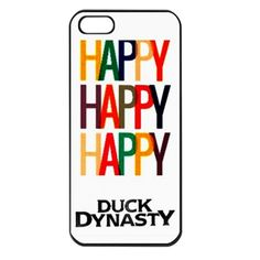 Duck Dynasty Happy Happy iPhone 5 Case Cover | bestiphone5caseshop - Accessories on ArtFire