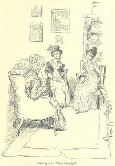Jane Austen Mansfield Park - talking over Thursday night Jane Austen Mansfield Park, Jane Austen Novels, Romance, Classic Literature, British Library, Vintage Costumes, Good Books, Book Art, Vintage World Maps