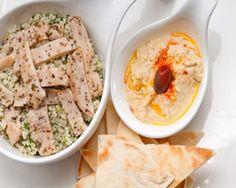 Hummus con Tortitas
