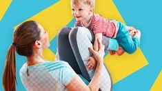 Diese Übung hilft nicht nur Dich nach der Schwangerschaft zu erholen, mit ihr stärkst Du auch Deine bei der Geburt stark geforderte Beckenbodenmuskulatur.