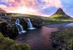 I shot this picture in Iceland. It was a gorgeous sunset, but one thing that…