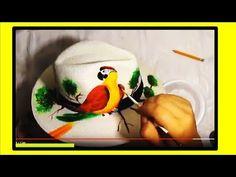 Sombreros para mujer tuto RAPIDISIMO! - impressive painted hat - YouTube