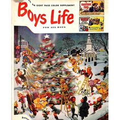 Cover Print of Boys Life Magazine, December 1952 | $6.14