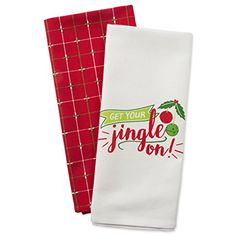Drying Kay Dee Designs Squeeze The Day Lemons Dual Purpose Kitchen Towels Dishtowel Set for Cleaning Cooking,Baking /& Everyday Kitchen Tasks