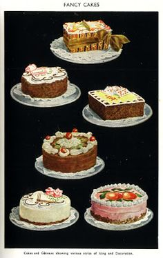 Fancy Cakes - #illustration