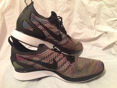 Nike Air Zoom Mariah Flyknit Racer MultiColor Rainbow Men's 918264-101 Size 10.5  | eBay
