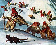 13 Christmas Trolls and their cat, Jólakötturinn