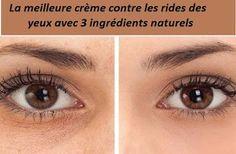 Si vous êtes à la recherche d'un remède naturel pour lutter contre les rides des yeux, la crème fait maison suivante vous aidera à vous débarrasser de vos rides et rendre votre peau plus saine