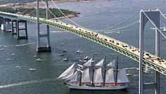 newport bridge...Rhode Island