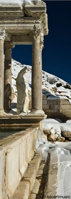 City of Sagalassos, Taurus Mountains, Turkey