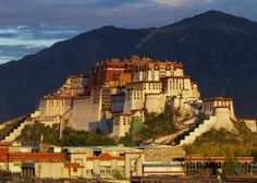 Potala Palace – Tibet. They say that this place is a sacred place, and a gateway to the spiritual-world.