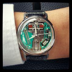 12 Best last tuning fork watch: Bulova Accutron 50th