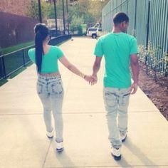 matching couple
