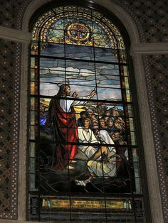 Stanford Memorial Church Stained Glass by mbell1975, via Flickr