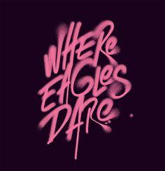 Amazing Typographic Artworks by Luke Choice – Inspiration Grid | Design Inspiration #typography #type #typographyinspiration #lettering #handlettering #inspirationgrid