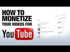 How To Monetize Your Viedo As Of  March 2015
