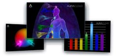 3D Male Chakra Imaging with Bio-Data Graphs