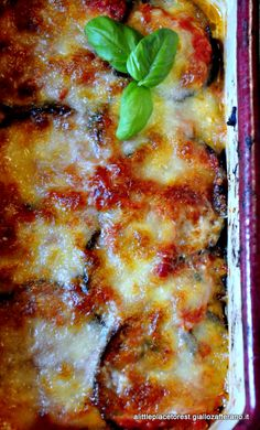 parmigiana di melanzane a little place to rest Sicilian Recipes, Best Italian Recipes, I Love Food, Good Food, Yummy Food, Pasta Recipes, Cooking Recipes, Happy Foods, Mets