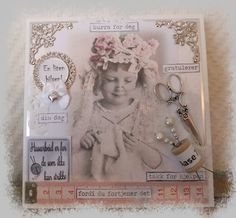 Connie`s lille verden Scrapbooking, Cover, Frame, Books, Cards, Decor, Picture Frame, Libros, Book