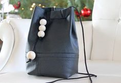 Turn Your Old Leather Jacket Into a Chic Bucket Bag