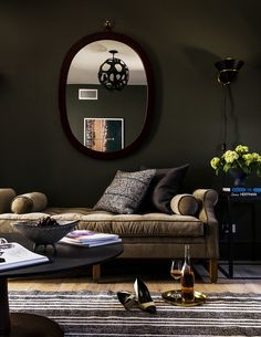 5 Ways to Go Dark and Dramatic with Paint | A blog by Sunset
