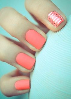 Dramatic Nail Designs For Short Nails #ShortNails