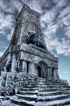 Shipka Memorial in Bulgaria by David J Nightingale