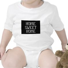 Home Sweet Home Colorado Bodysuits   Baby Onsie Bodysuit Gift for $17
