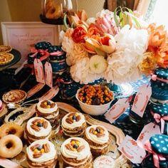 wedding dessert table, autumn, tatrlets, homemade jam, apple pies, mini carrot cakes, сладкий стол @Aidina Bake A Cake #aidinabakeacake