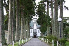 Ponta Delgada, Portugal: Church on Sete Cidades
