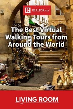 Jet setting to far-off destinations might be on pause but that doesn't mean you can't enjoy the next best thing: virtual walking tours from around the world. We've listed some of the best on #REALTORdotca Living Room.
