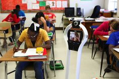 Telepresence Robots Can Help Chronically Ill Kids Enjoy School | Digital Trends