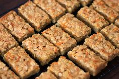 Savoury Flapjacks - baby led weaning recipe by www.thingsforboys.com