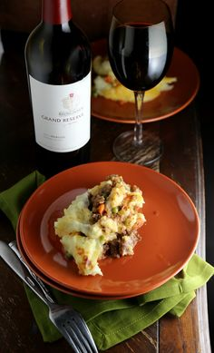 Give this much celebrated Spicy Shepherd's Pie a bit of Latin spin with the addition of chipotles! Yum, a delicious filling made with lamb, chipotles, and ground cumin pair with the almighty potato to create a casserole dish that is the perfect simple dinner or great to whip up and feed a hungry crowd. #recipe