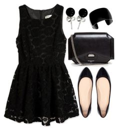 """""""Untitled #3993"""" by natalyasidunova ❤ liked on Polyvore featuring Zara, Givenchy and Bling Jewelry"""